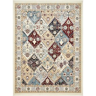 Find Rupe Ivory Area Rug By World Menagerie