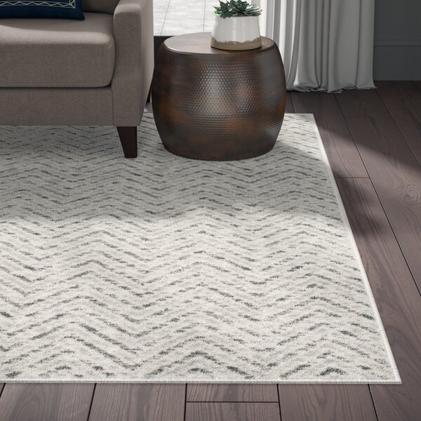 Connie Ivory/Charcoal Area Rug by Greyleigh