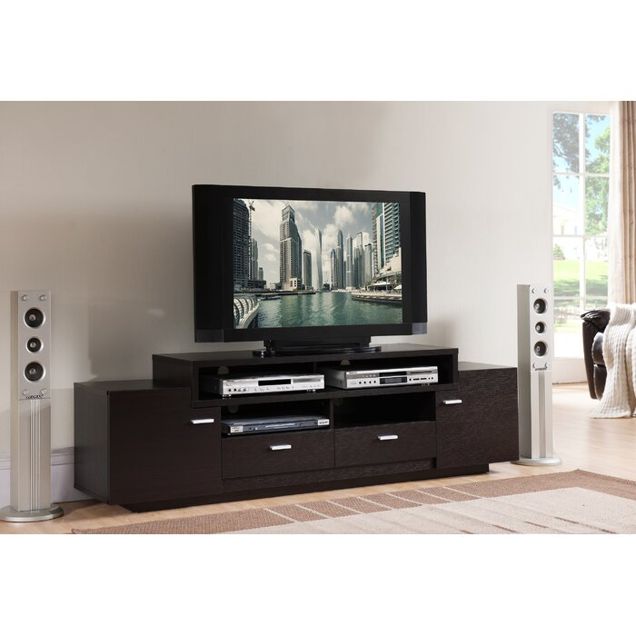 Aston Solid Wood Tv Stand For Tvs Up To 70