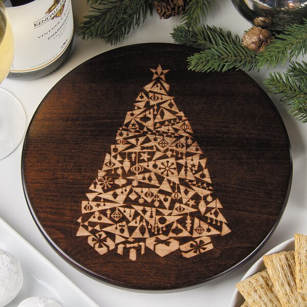 Modern Christmas Tree Trivet by Martins Homewares