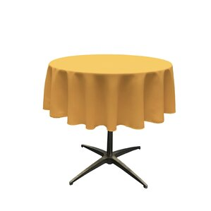 Wayfair Basics Polyester Round Tablecloth