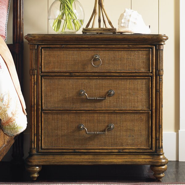 Bali Hai 3 Drawer Bachelor's Chest By Tommy Bahama Home