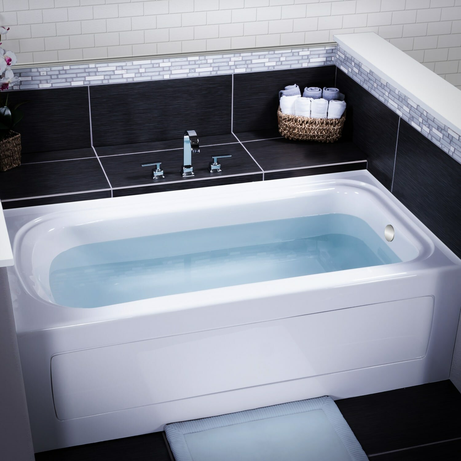 Modern 60 X 36 Soaking Tub Adornment - Bathtub Ideas - dilata.info