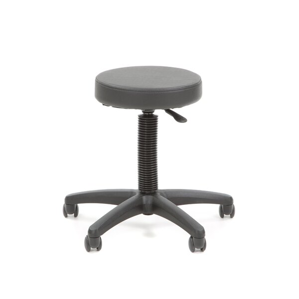 Backless Drafting Chair with Nylon Base by Office Star Products