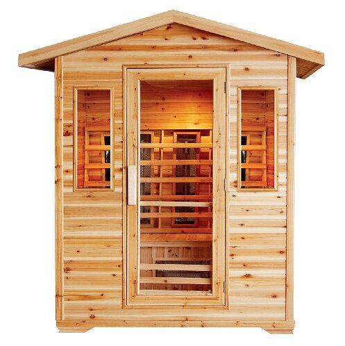 Cayenne 4 Person FAR Infrared Sauna by SunRay Saunas