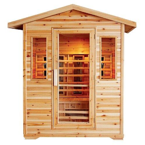Cayenne 4 Person FAR Infrared Sauna by SunRay Saunas
