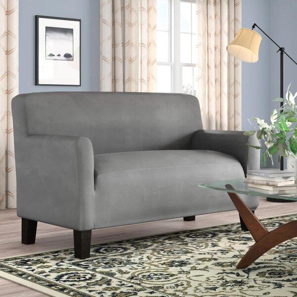 Box Cushion Loveseat Slipcover By Red Barrel Studio
