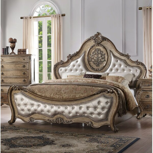 Okeefe Arched Queen Upholstered Standard Bed by Astoria Grand Astoria Grand