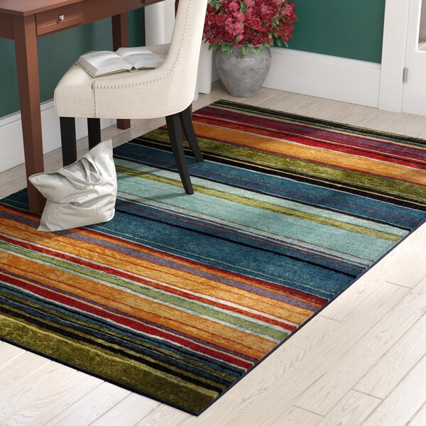 Bartlett Las Cazuela Blue Orange Area Rug By Red Barrel Studio.