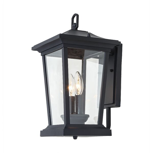 Huebner 2-Light Outdoor Wall Lantern by Alcott Hill