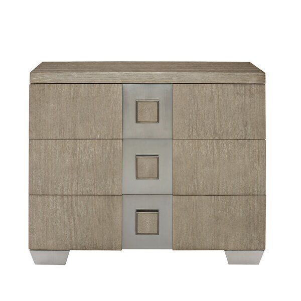 Mosaic 3 Drawer Bachelor's Chest By Bernhardt