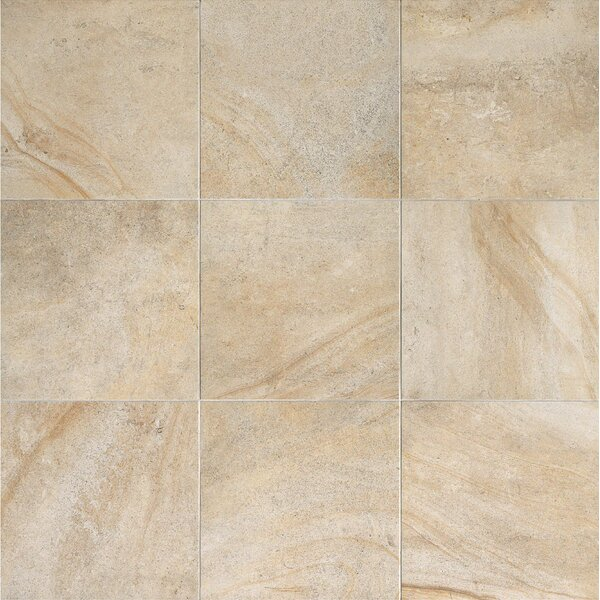 Everstone 12 x 12 Porcelain Field Tile in Ever-Dore by Travis Tile Sales