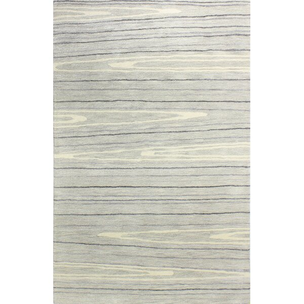 Kelson Hand Tufted Wool Ivory Area Rug by Latitude Run