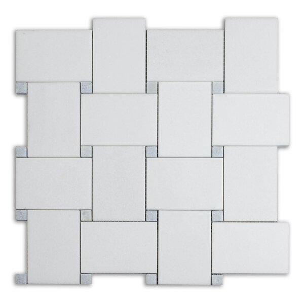 Bold 11 x 11 Marble Mosaic Tile