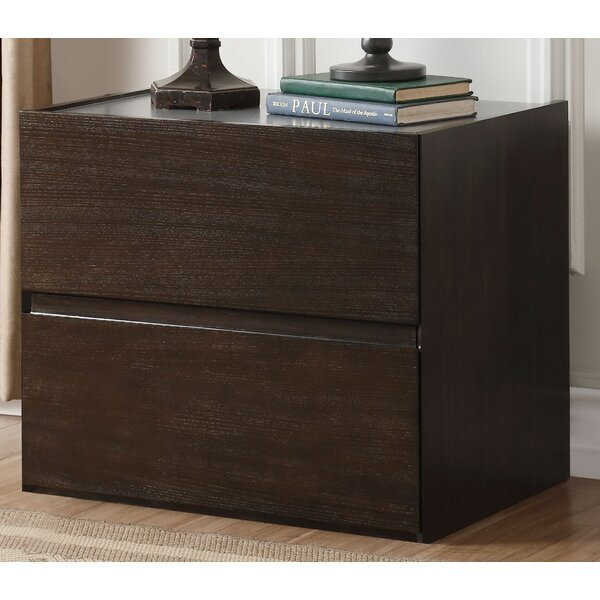 Forbell 2 Drawer Nightstand By Latitude Run by Latitude Run #1