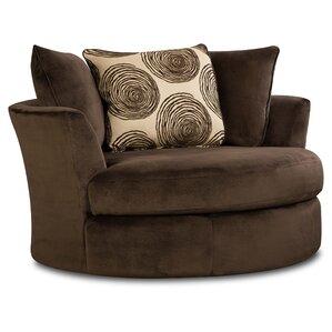 Rayna Transient Swivel Barrel Chair