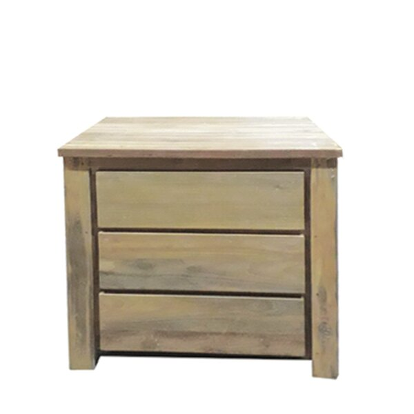 Epps 3 Drawer Nightstand by Rosecliff Heights