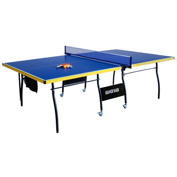 Bounce Playback Indoor Table Tennis Table with Accessories by Hathaway Games