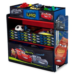 Disney/Pixar Cars Multi-Bin Toy Organizer