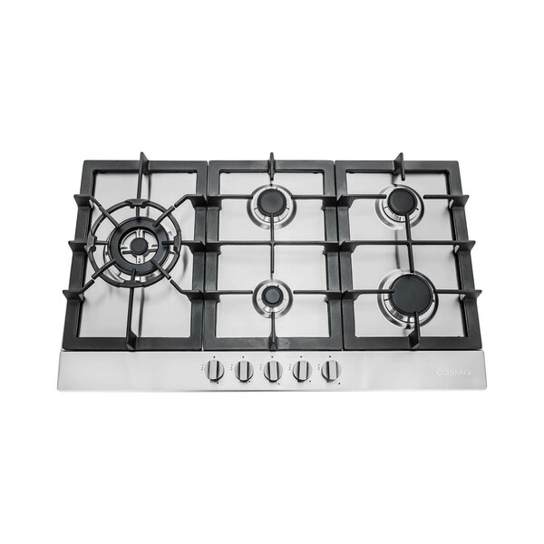 34 Gas Cooktop with 5 Burners by Cosmo