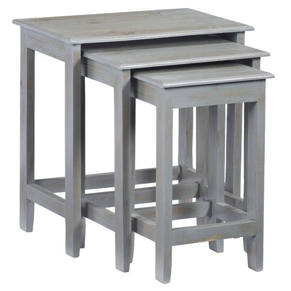 Knobel 3 Piece Nesting Tables By Gracie Oaks
