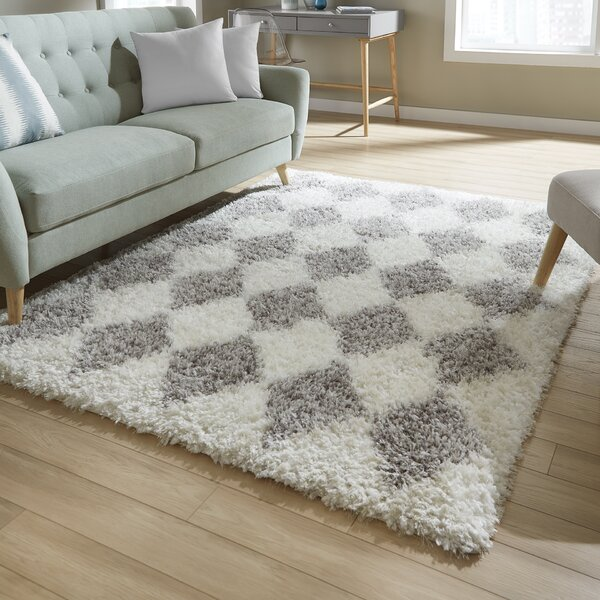 Abarca Gray Area Rug by Mercury Row