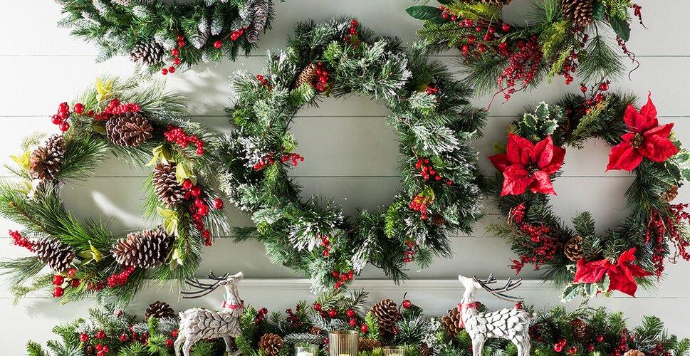 Christmas Wreaths Garlands Ll Love Wayfair Shop Sale Buy Garland