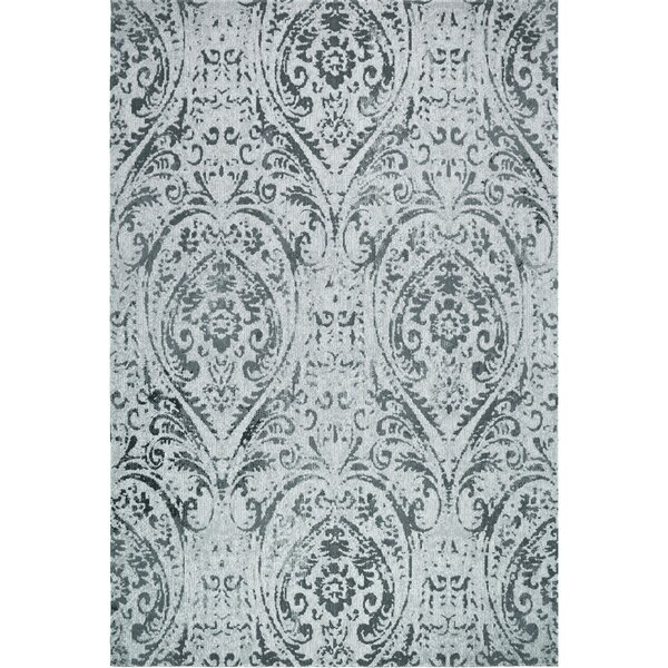 Sofia Transitional Ivory/Blue Indoor/Outdoor Area Rug by Nicole Miller