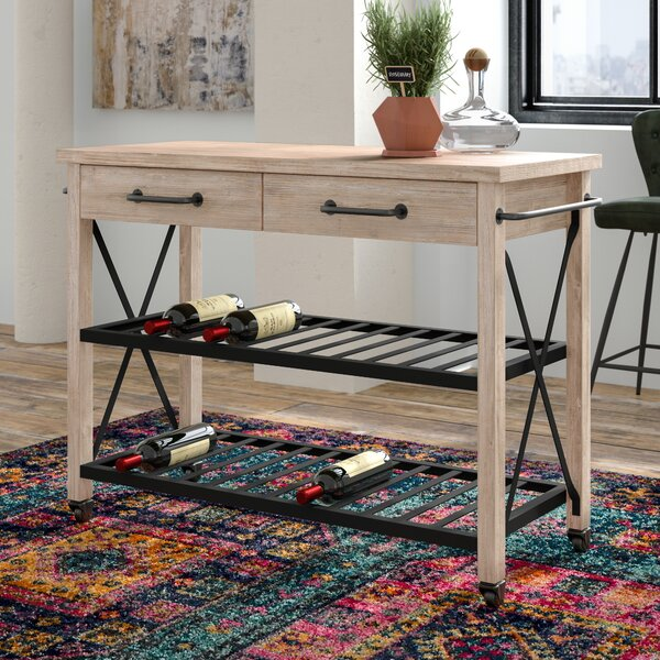 Adelbert 2 Drawer Bar Cart by Trent Austin Design