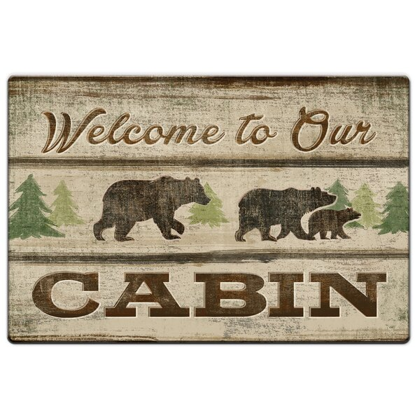 Cuyuna Welcome to Our Cabin Anti-Fatigue Mat