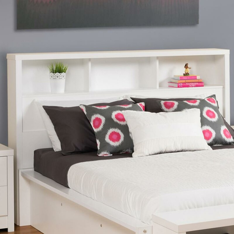 no bookcase bookcases storage bed with queen bookshelf full headboard white