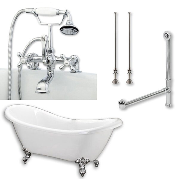 68 x 29 Clawfoot Bathtub by Cambridge Plumbing