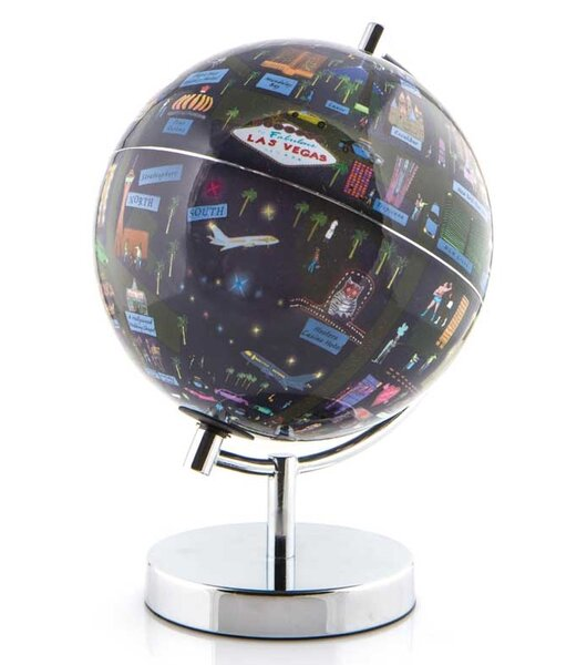 Las Vegas Night Lights Globe by Waypoint Geographic