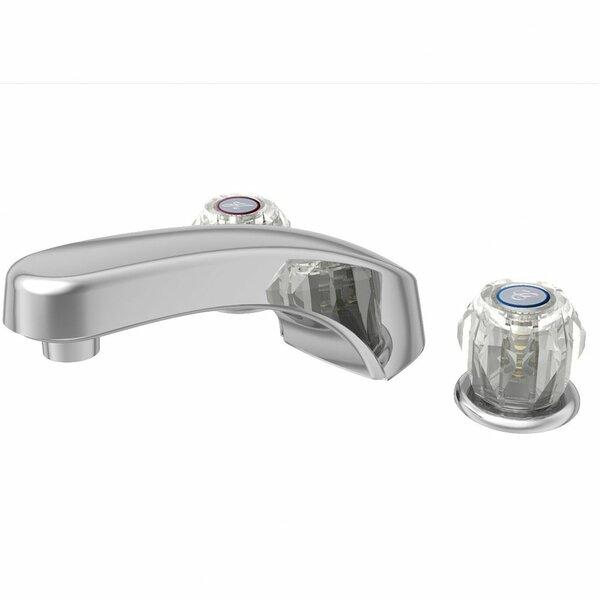 Basic Double Handle Deck Mounted Roman Tub Faucet By Aqueous Faucet