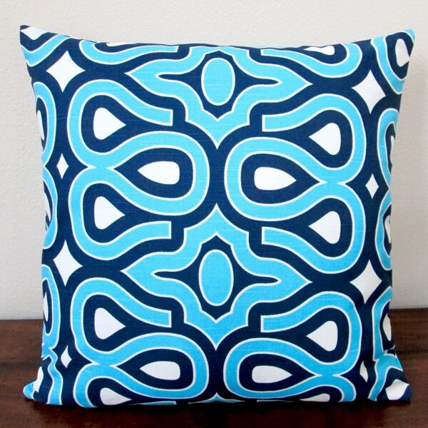 HGTV Home Turtle Shell Lapis Indoor Pillow Cover by Artisan Pillows