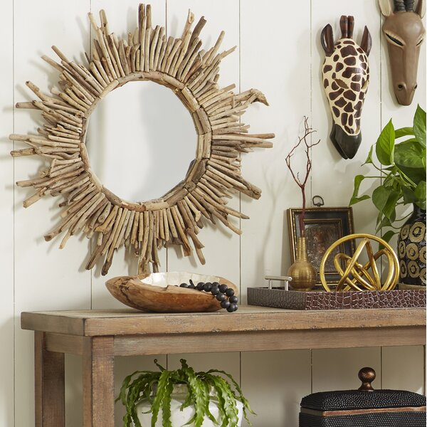 Sunburst Accent Mirror by Beachcrest Home