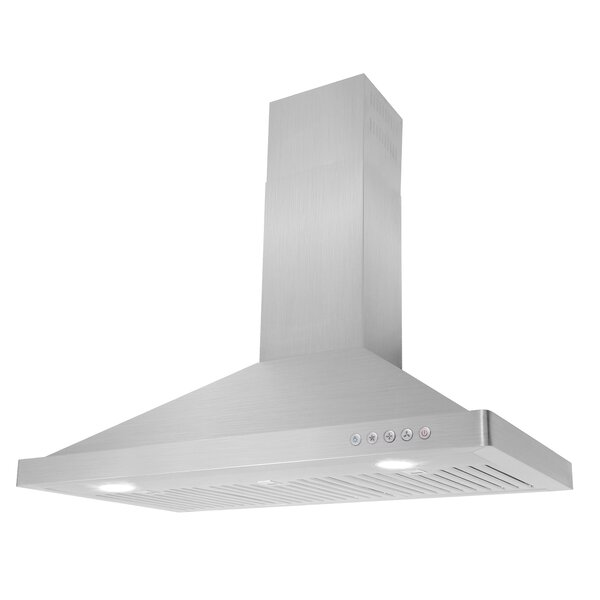 36 760 CFM Ducted Wall Mount Range Hood by Cosmo