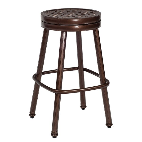 Casa Swivel 28.5 Patio Bar Stool by Woodard