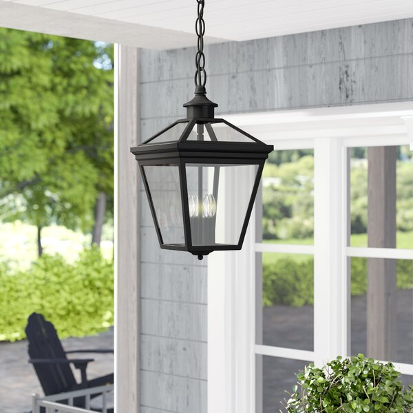 Coleg 4-Light Outdoor Hanging Lantern by Darby Home Co