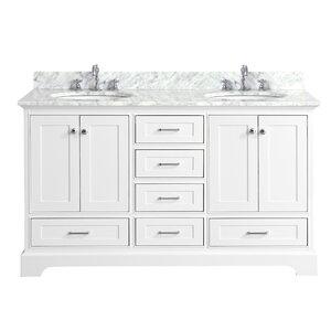 Harper 60″ Double Bathroom Vanity Set