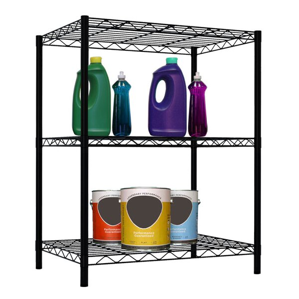 Three Shelf Shelving Unit by Home Basics