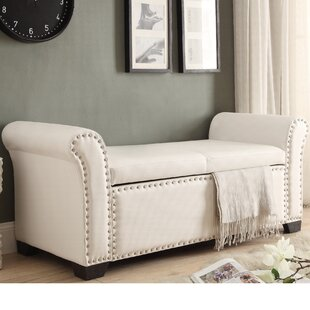 Affordable Grogg Faux Leather Storage Bench ByDarby Home Co