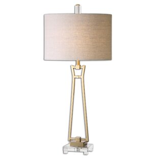 Best Reviews Leonidas 36.25 Table Lamp By Uttermost