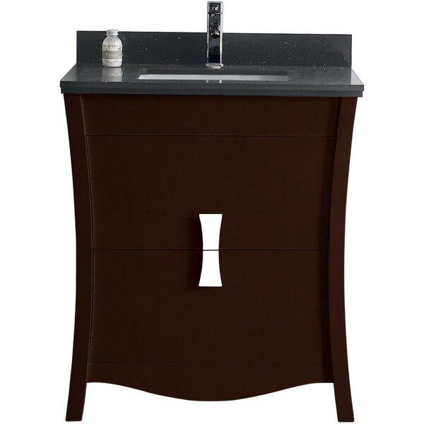 Bow 29.45 Single Bathroom Vanity Set by American Imaginations