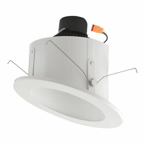 Sloped Ceiling Baffle Inserts 6 LED Recessed Trim by Elco Lighting