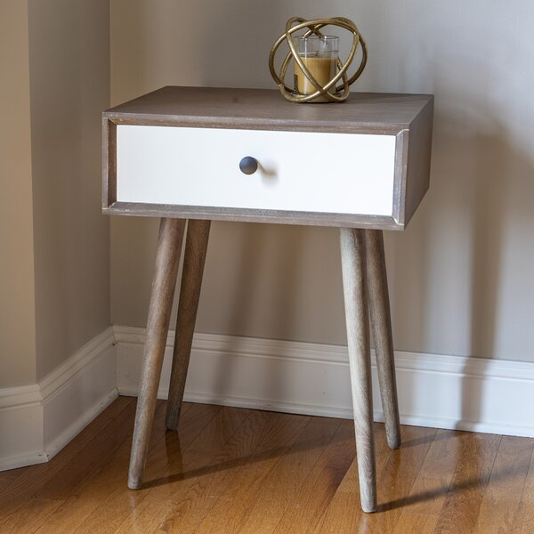 Rothman End Table With Storage By Corrigan Studio