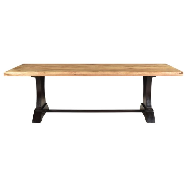 Chaunte Solid Wood Dining Table by 17 Stories