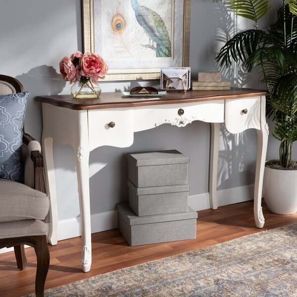 Widmer Solid Wood Console Table By Ophelia & Co.