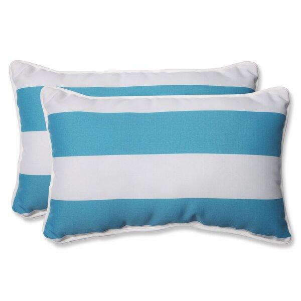 Galya Indoor/Outdoor Lumbar Pillow (Set of 2)