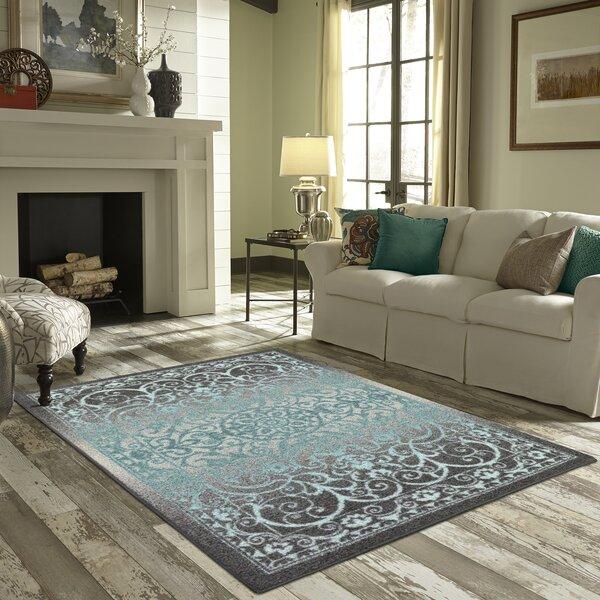 Landen Gray/Blue Area Rug